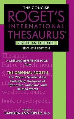 Roget's Thesaurus By Kipfer, Barbara Ann